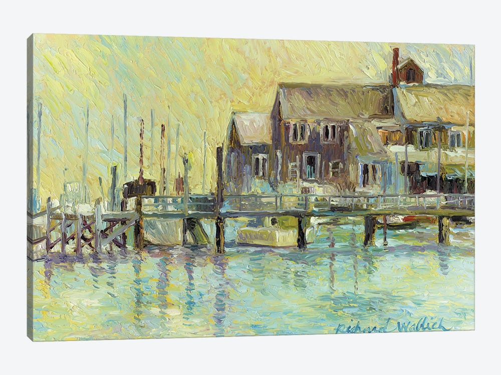Narragansett by Richard Wallich 1-piece Canvas Print