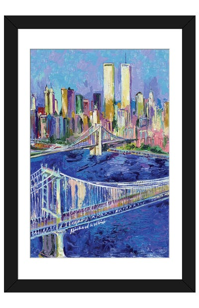 New York I Framed Art Print