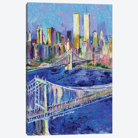 New York I Canvas Print #RWA119} by Richard Wallich Canvas Wall Art