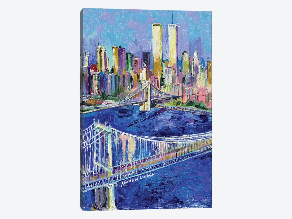 New York I by Richard Wallich 1-piece Canvas Artwork