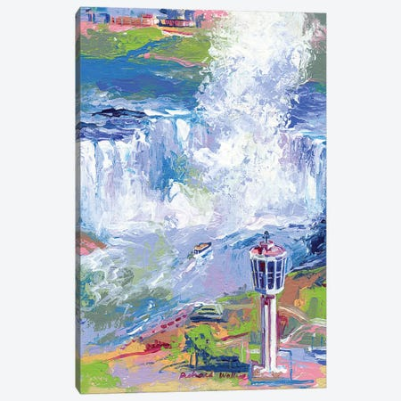 Niagara Falls Canvas Print #RWA123} by Richard Wallich Canvas Art Print