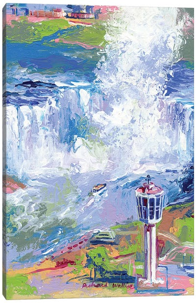 Niagara Falls Canvas Print #RWA123