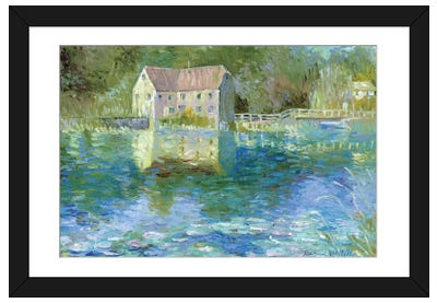 Old Mill Framed Art Print