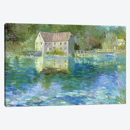 Old Mill Canvas Print #RWA126} by Richard Wallich Canvas Wall Art