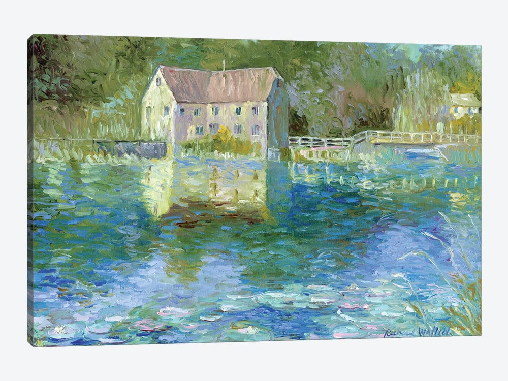 Old Mill 1-piece Canvas Art