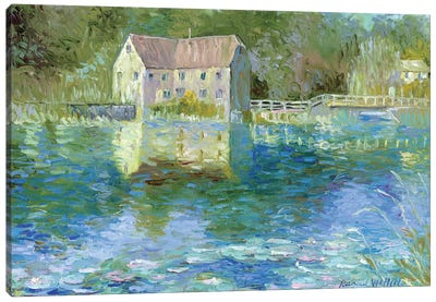 Old Mill Canvas Art Print