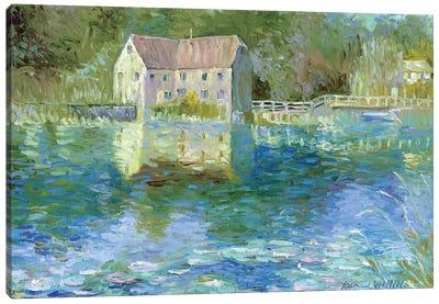 Old Mill Canvas Art Print