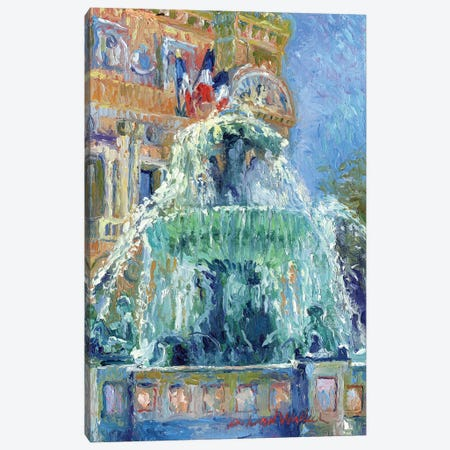 Paris Las Vegas Canvas Print #RWA131} by Richard Wallich Canvas Art