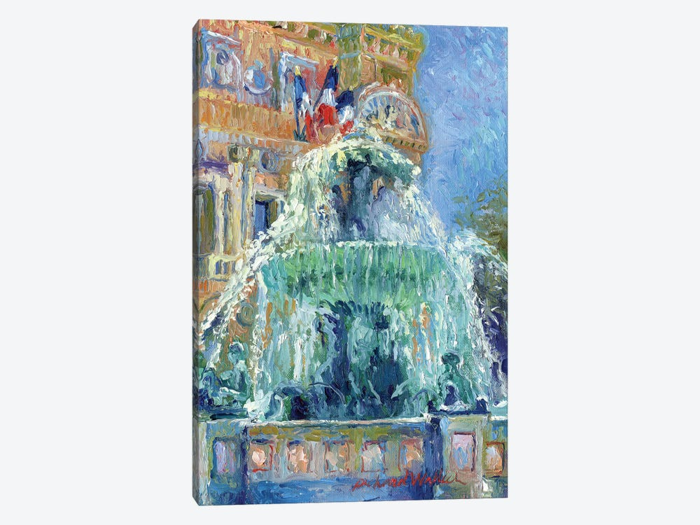 Paris Las Vegas by Richard Wallich 1-piece Canvas Wall Art
