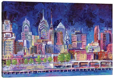 Philadelphia Canvas Art Print