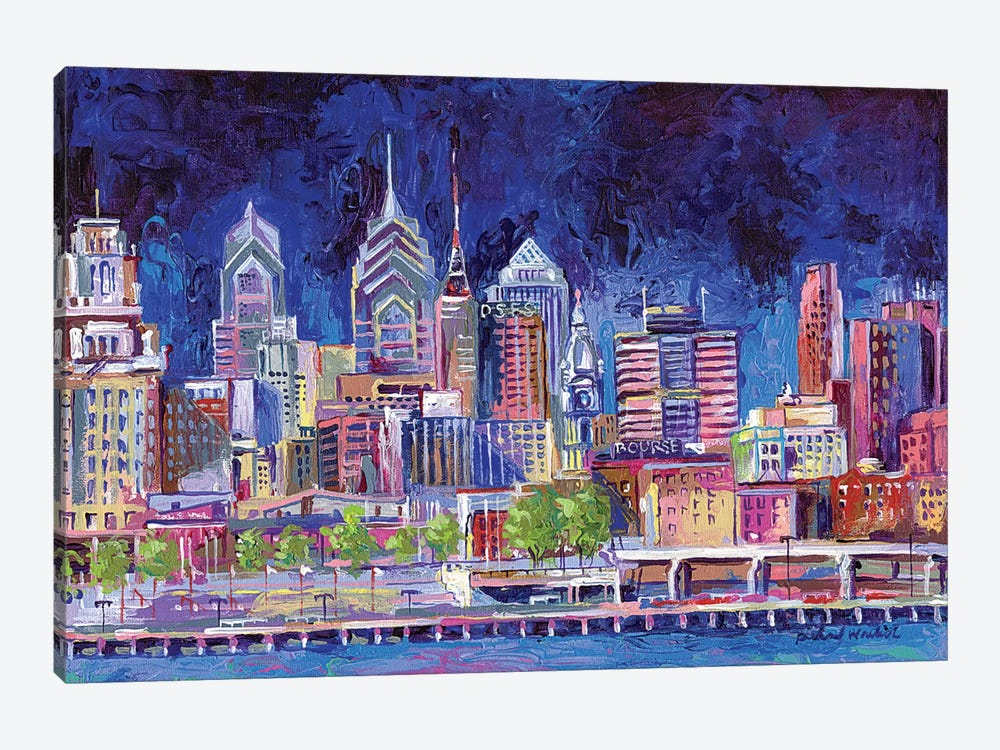 Philadelphia by Richard Wallich 1-piece Art Print