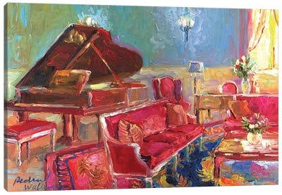 Piano Bar II Canvas Print #RWA137