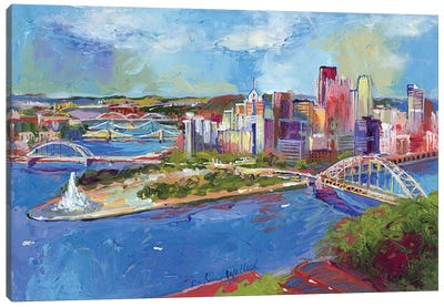Pittsburgh Canvas Art Print