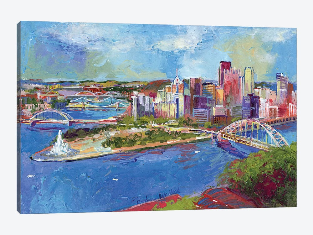 Pittsburgh 1-piece Canvas Wall Art