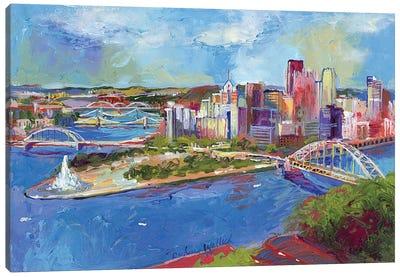 Pittsburgh Canvas Art Print