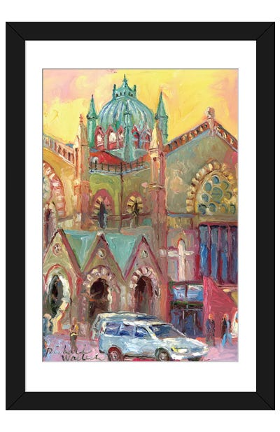 Boston III Framed Art Print