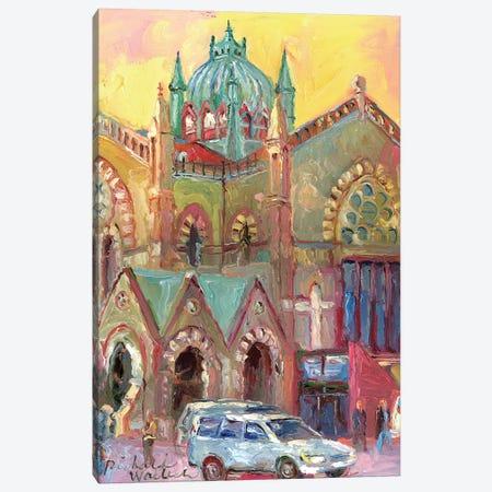 Boston III Canvas Print #RWA13} by Richard Wallich Canvas Art Print