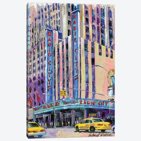 Radio City Music Hall Canvas Print #RWA141} by Richard Wallich Canvas Print