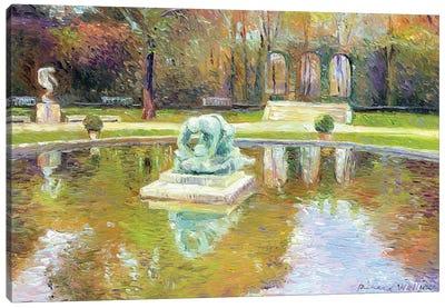 Rodin Museum Canvas Print #RWA147