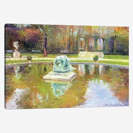 Rodin Museum 3-Piece Canvas #RWA147} by Richard Wallich Canvas Artwork