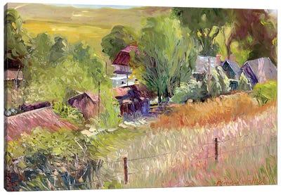 Rooney Ranch I Canvas Print #RWA148