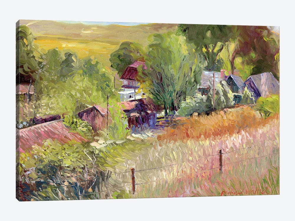 Rooney Ranch I by Richard Wallich 1-piece Canvas Art