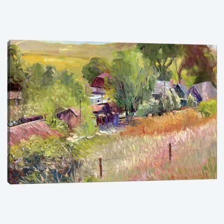 Rooney Ranch I Canvas Print #RWA148} by Richard Wallich Canvas Print