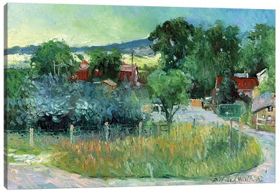 Rooney Ranch IV Canvas Print #RWA149