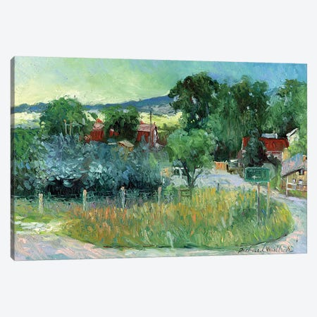 Rooney Ranch IV Canvas Print #RWA149} by Richard Wallich Canvas Print
