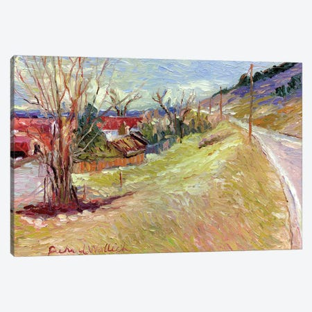 Rooney Ranch V Canvas Print #RWA150} by Richard Wallich Canvas Wall Art