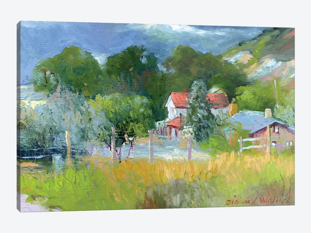 Rooney Ranch VI by Richard Wallich 1-piece Canvas Artwork