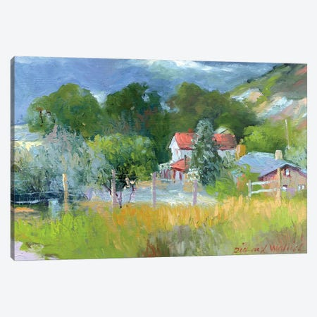 Rooney Ranch VI Canvas Print #RWA151} by Richard Wallich Canvas Art