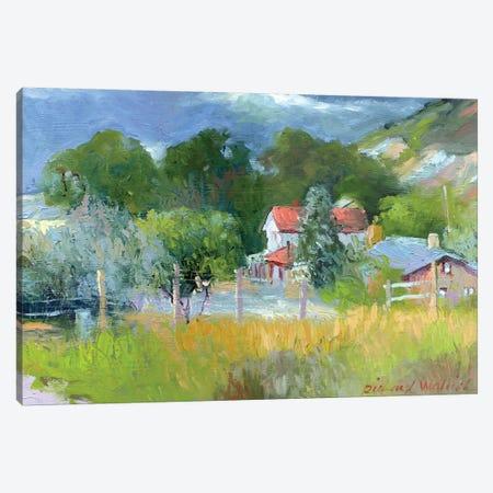 Rooney Ranch VI Canvas Print #RWA151} by Richard Wallich Canvas Art