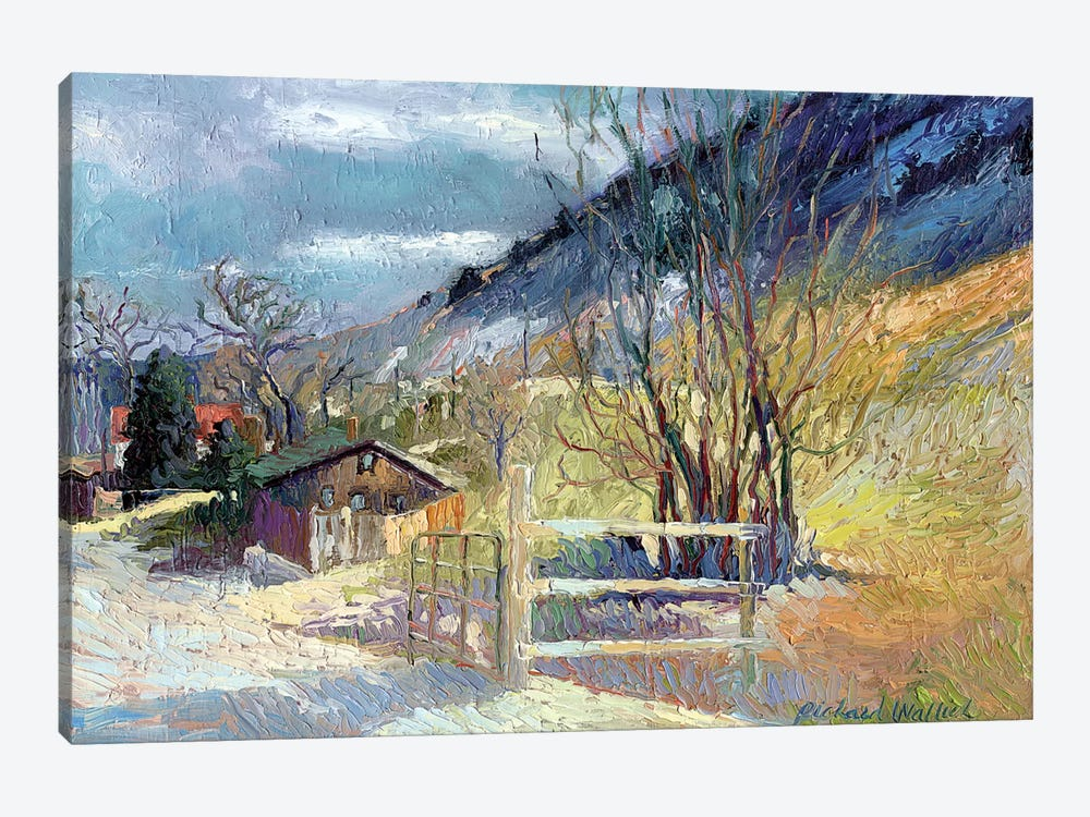 Rooney Ranch VII by Richard Wallich 1-piece Art Print