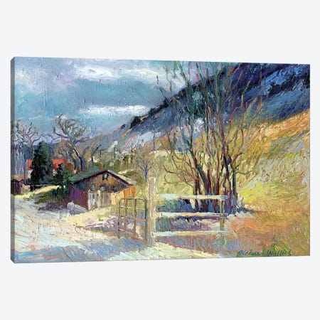 Rooney Ranch VII Canvas Print #RWA152} by Richard Wallich Canvas Artwork