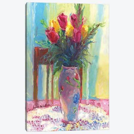Roses IV Canvas Print #RWA156} by Richard Wallich Canvas Print
