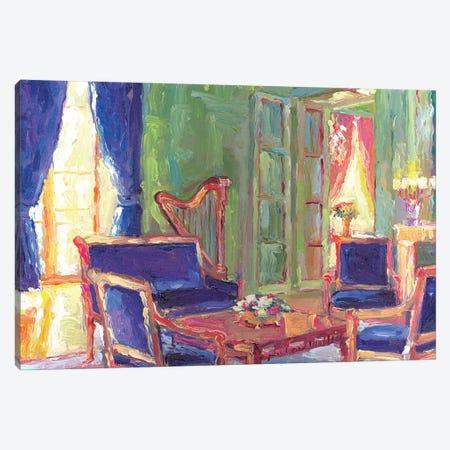 Salon Canvas Print #RWA159} by Richard Wallich Canvas Wall Art