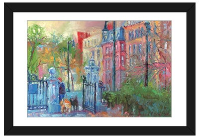 Boston I Framed Art Print