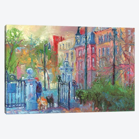 Boston I Canvas Print #RWA15} by Richard Wallich Canvas Wall Art