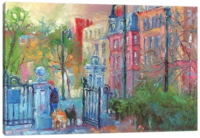 Boston I Canvas Art Print