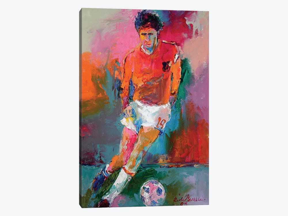 Socceer by Richard Wallich 1-piece Canvas Wall Art