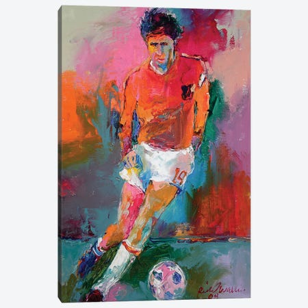 Socceer Canvas Print #RWA164} by Richard Wallich Canvas Art