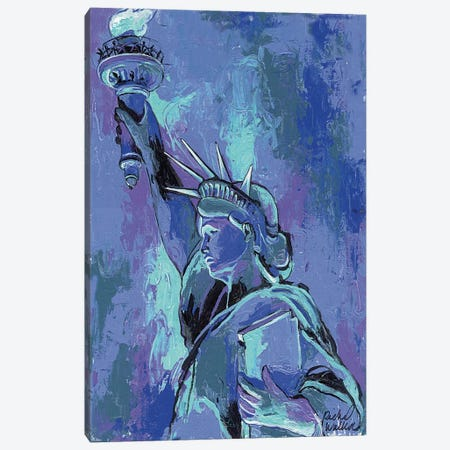 Statue Of Liberty II Canvas Print #RWA169} by Richard Wallich Art Print