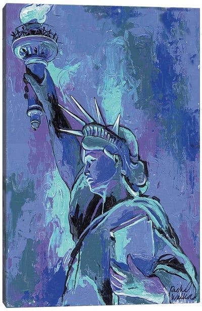 Statue Of Liberty II Canvas Print #RWA169