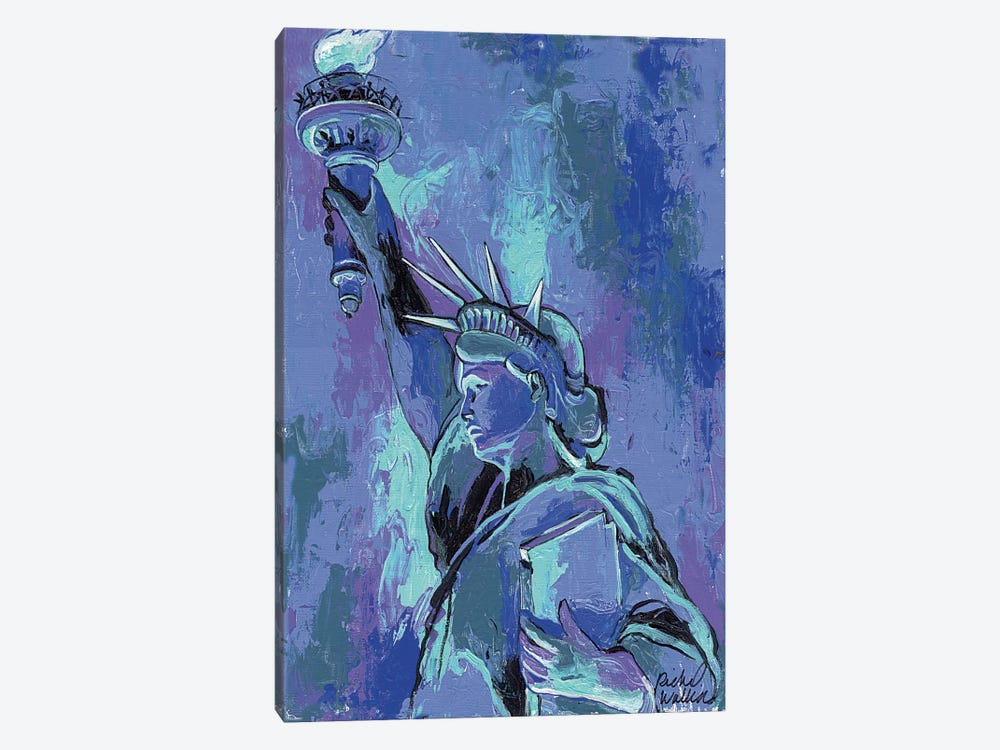 Statue Of Liberty II 1-piece Canvas Art Print