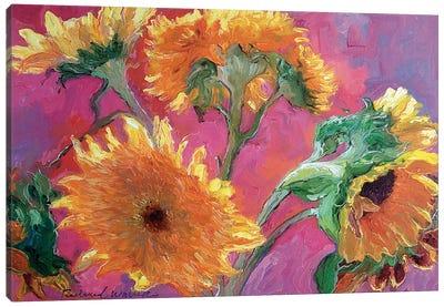 Sunflower Canvas Print #RWA171