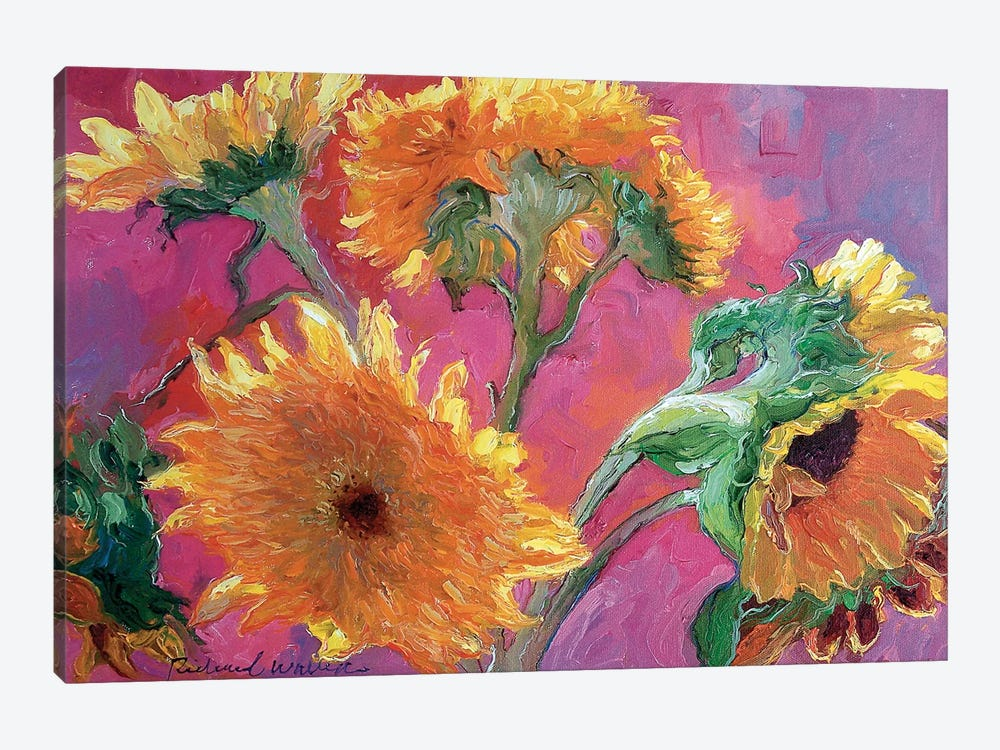 Sunflower by Richard Wallich 1-piece Canvas Art