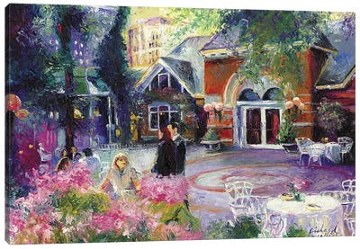 Tavern On The Green I Canvas Print #RWA177