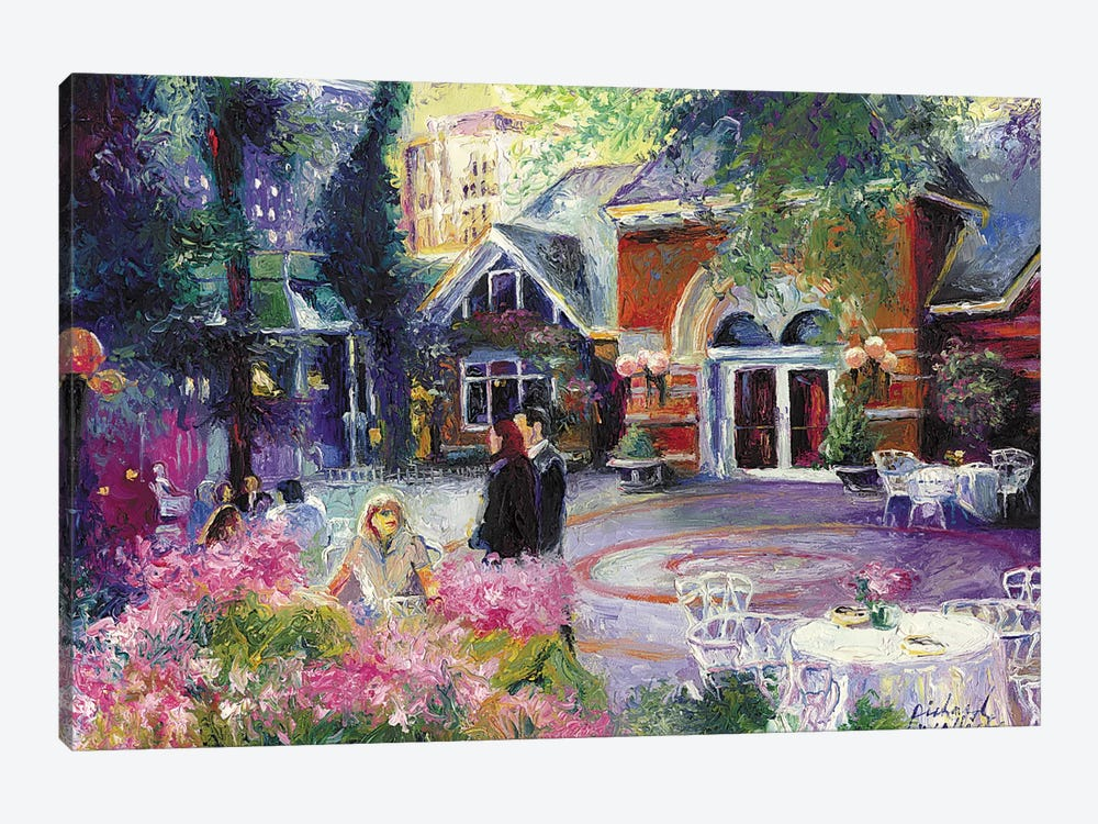 Tavern On The Green I by Richard Wallich 1-piece Canvas Artwork