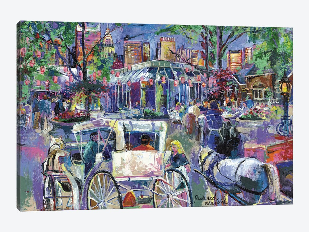 Tavern On The Green II by Richard Wallich 1-piece Canvas Art Print